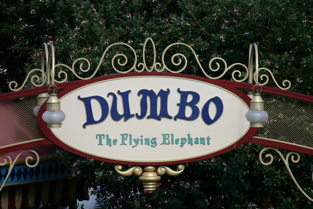 Dumbo - Top Fictional Elephants